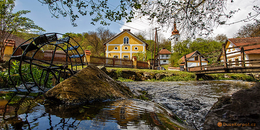 Hungarian Karst - picturesque village Jósvafő