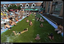 Termální koupaliště berehovo malý bazén pro děti
